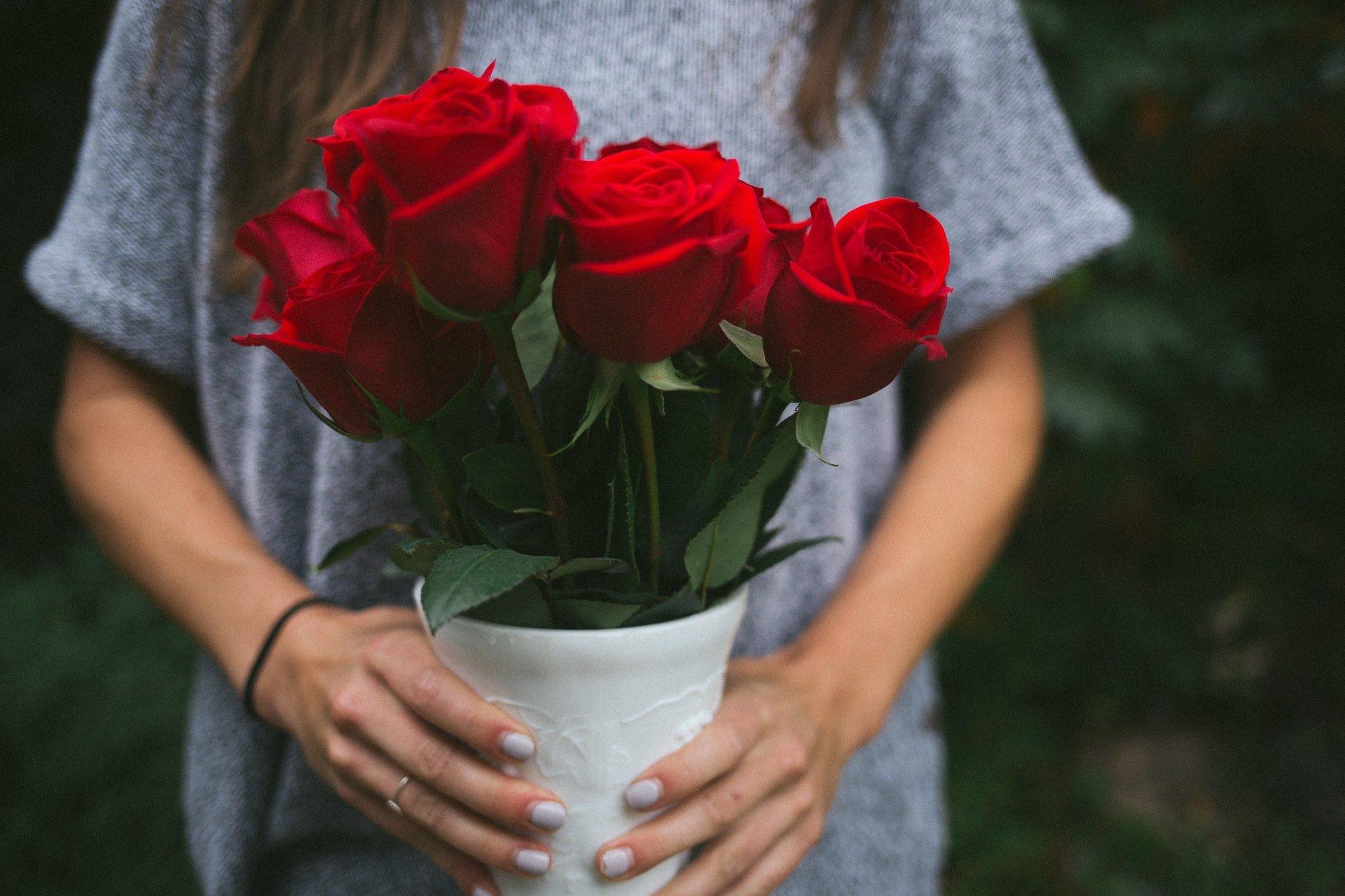 """Aktion """"Tausche Rose gegen Spende"""" zum 3. Mal erfolgreich!"""