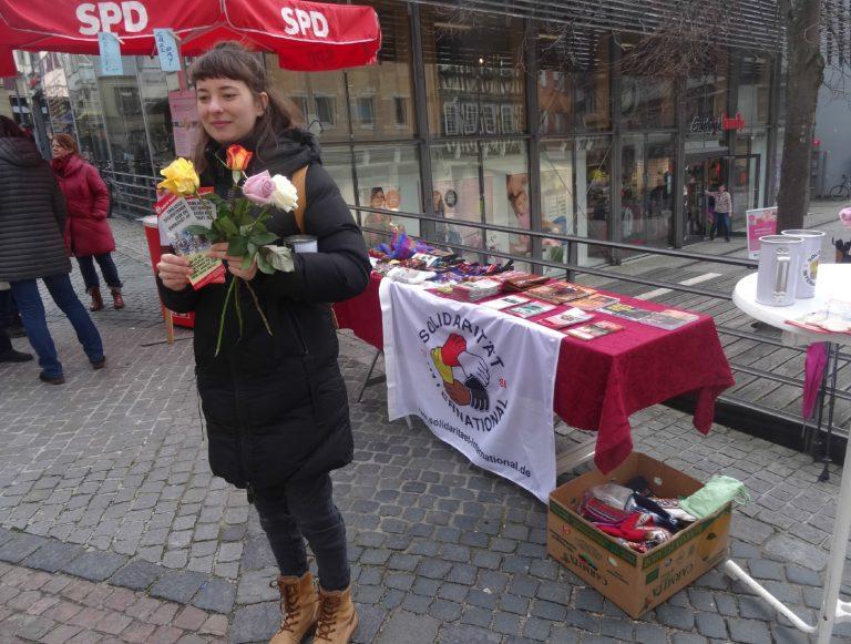 Tausche Rose gegen Spende!