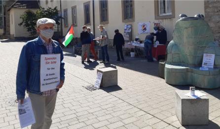Hohe Spendenbereitschaft für Krankenhaus im Gaza-Streifen