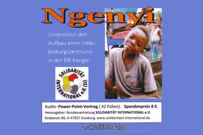 DVD zur Kampagne für das Volksbildungszentrum Ngenyi im Kongo