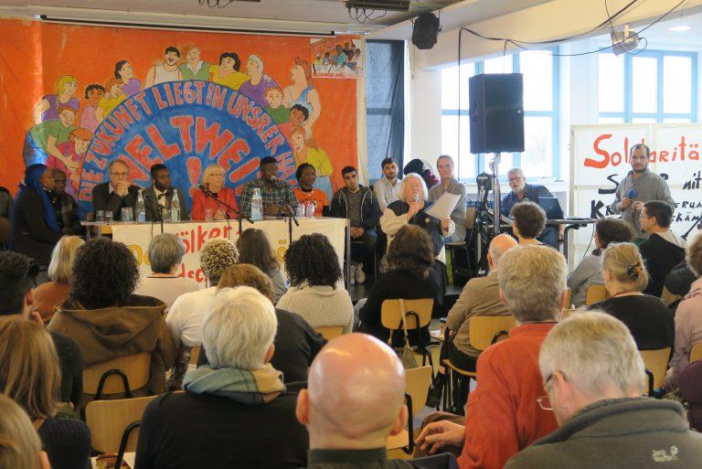 1. Presseinformation der Regionalgruppe OST des Freundeskreises Flüchtlingssolidarität in SOLDARITÄT INTERNATIONAL e.V.: