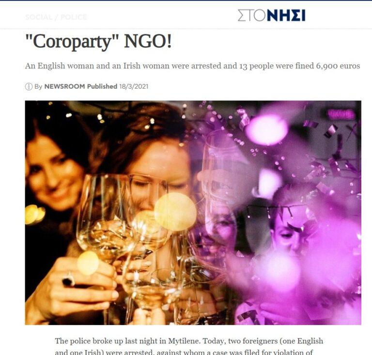 Null Disziplin: NGO-Partys gefährden Gesundheit der Flüchtlinge!