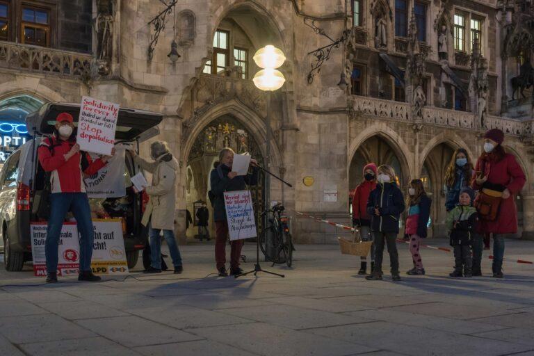 """München: """"Wir haben über den Prozess und die Zustände in den Lagern informiert"""""""