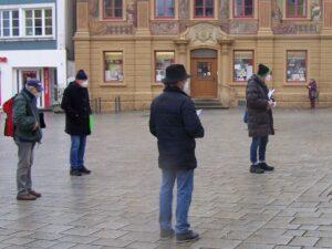 Kundgebung in Ellwangen, 17. Februar 2020