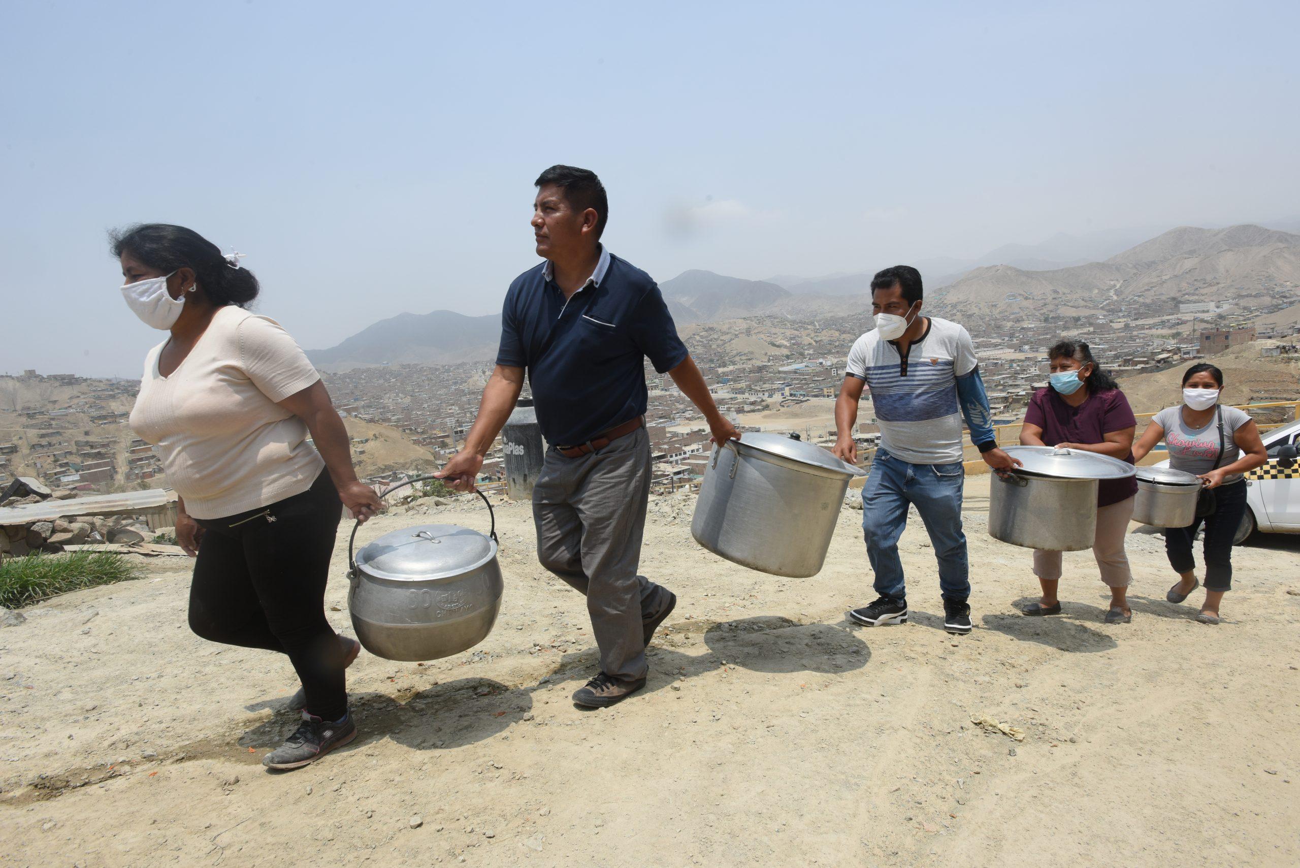 Mit Suppenküchen gegen die Armut und den Hunger kämpfen