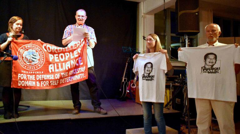 """Stop killings, """"red-tagging"""" und die Politik des Verschwindenlassen!"""